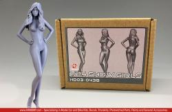 1:24 Show Girl Resin Figure HD03-0438