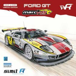 1:24 Simil'R Ford GT Marc VDS Racing Team FIA GT1 2011 - Limited Edition