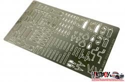 1:24 Hand Tools Set (Photoetched)