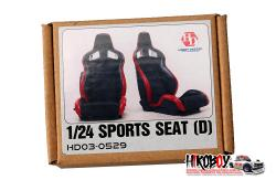 1:24 Recaro Sports Seats D (Resin)