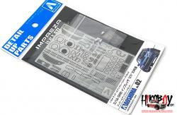1:24 Subaru GRB Impreza `07/`10 Detail Up Parts Set (Aoshima)