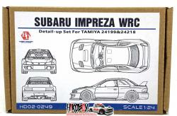1:24 Subaru Impreza WRC 98 Detail-up Set For Tamiya (PE+Resin+Metal parts)