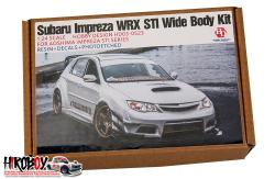 1:24 Subaru Impreza WRX STI Varis Wide Body Kit For Aoshima Impreza STI