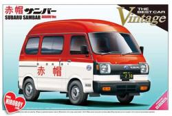 1:24 Subaru Sambar Akabou Model Kit