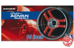 1:24 Super Advan Racing Ver.2 Wheels and Tyres