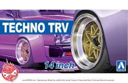 1:24 Techno TRV 14inch Wheels and Tyres