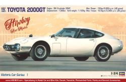 1:24 Toyota 2000GT Early Type 1967 Model Kit