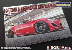 1:24 Toyota 86 Greddy / Rocket Bunny Photoetched Detail up Set for Aoshima