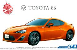 1:24 Toyota 86 - GT86 - FR-S (Aoshima) c/w Full Engine Detail
