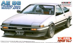 1:24 Toyota AE86 Trueno 1600 GT APEX Model Kit