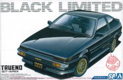 1:24 Toyota AE86 Trueno GT-Apex Black Limited