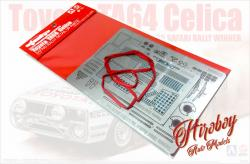 1:24 Toyota Celica TA64 - 1985 Safari Detail Up Parts