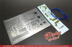 1:24 Honda EF3 Civic '89 PIAA Detail Up Parts