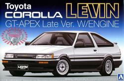 1:24 Toyota Corolla Levin GT-Apex Late Ver c/w Engine