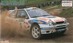 1:24 Toyota Corolla WRC 1998 Rally Great Britian