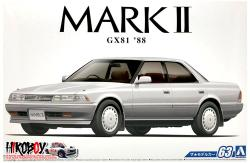 1:24 Toyota Mark II (1988 GX81) Grande Twin Turbo