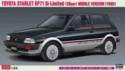 1:24 Toyota Starlet EP71 Si Limited '3 Door' Middle Version