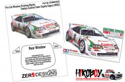 1:24 Castrol Toyota Tom's Supra GT Window Painting Masks (Tamiya)