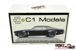 1:24 Restomod '69 Chevy Nova Overfender Transkit for Revell