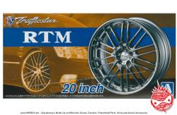 "1:24 Trafficstar RTM 20"" Wheels and Tyres"
