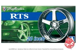 "1:24 Trafficstar RTS 20"" Wheels and Tyres"