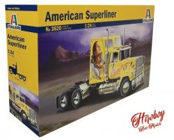 1:24 U.S. Superliner Power Truck - Italeri 3820 Model Kit