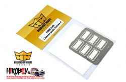 1:24 License Plate Frames + License Plates 4 (Photoetched)