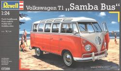 1:24 VW Volkswagen T1 Samba Bus (23 Window)