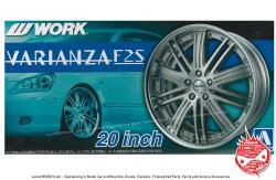 "1:24 Work Varianza F2S 20"" VIP Wheel and Tyre Set"