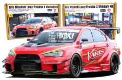 1:24 Varis Version 2 Widebody Aero Kit for CZ4A Mitsubishi Lancer Evolution X​​​​​​​