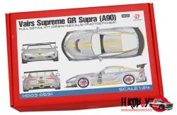 1:24 Varis Supreme GR Supra (A90) Full Detail Kit
