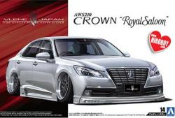 1:24 Vlene AWS210 Crown Royal Saloon G '12 (Toyota)