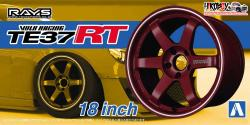 "1:24 Volk Racing TE37 RT 18"" Wheel and Tyre Set #24"