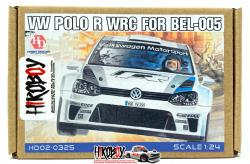 1:24 Volkswagen Polo R WRC - Detail up Set - (PE and Resin) (Belkits)