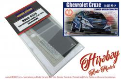 1:24 Chevrolet Cruze 1.6T 2012 - Detail up Set - (PE and Resin) (Beemax)