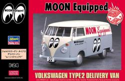 "1:24 Volkswagen Type 2 Delivery Van ""Moon Equipped"" Limited Edition"
