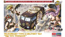 1:24 Volkwagen Type 2 Delivery Van 'Egg Girls Steampunk'