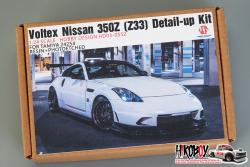 1:24 Voltex Nissan 350Z (Z33) Detail-up Kit  For Tamiya 24254 (Resin+PE)