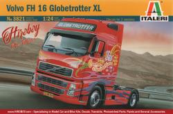 1:24 Volvo FH16 Globetrotter - Italeri 3821 Model Kit