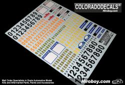 1:24 WRC Rally Plates 2013 - Italy & Finland Decals