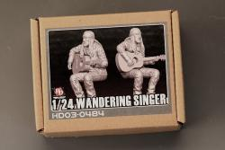 1:24 Wandering Singer Resin Figure