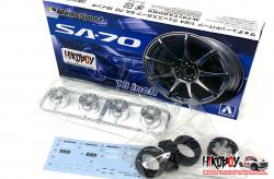 1:24 Wedsports SA-70 Wheels and Tyres