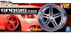 "1:24 19"" Work Gnosis GS2 Wheel and Tyre Set"
