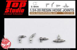 1:24 / 1:20 Resin Hose Joints (0.8mm)