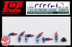 1:24 / 1:20 Resin Hose Joints (1.2mm)