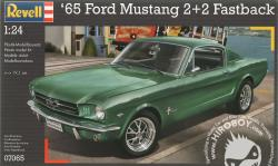 1:24 Ford Mustang 1965 2+2 Fastback