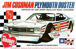 1:25 Jim Cushman's 1970'S Plymouth Duster - Short Track Car Model Kit