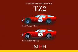 1:43 Alfa Romeo TZ2 ver.D Multi-Media Model Kit