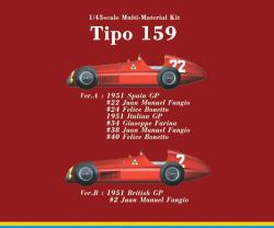 1:43 Alfa Romeo Tipo 159 ver.A Multi-Media Model Kit