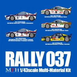 1:43 Lancia 037 Rally Multi-Media Kit